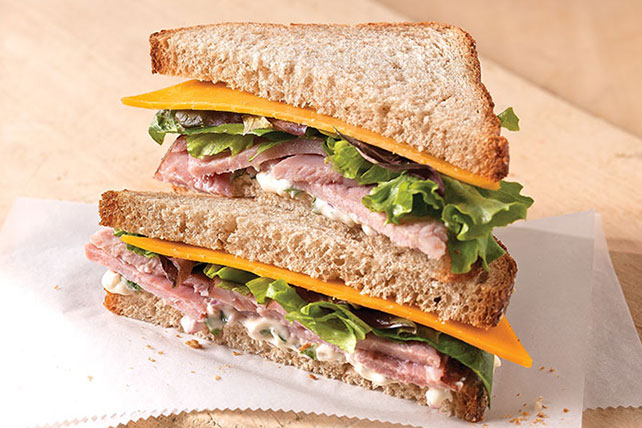 Blue Ribbon Ham Sandwich Image 1