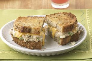 Sandwich grillé fondant au thon