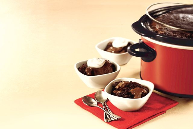 Slow-Cooker Chocolate Pudding Cake Image 1