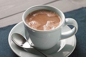 Chocolate caliente deliciosamente espeso