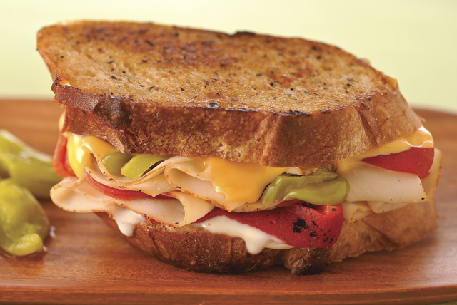 Cajun Chicken Melt Recipe Image 1