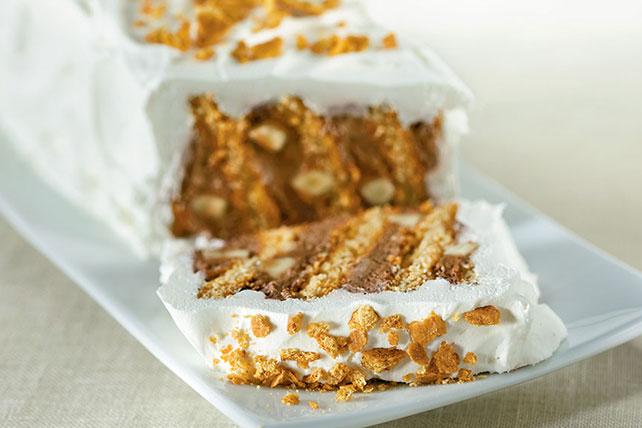 "Chocolate-Banana Graham Refrigerator ""Cake"" Image 1"