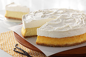 PHILADELPHIA Vanilla Bean Mousse Cheesecake