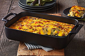 VELVEETA® Vegetable Brunch Bake