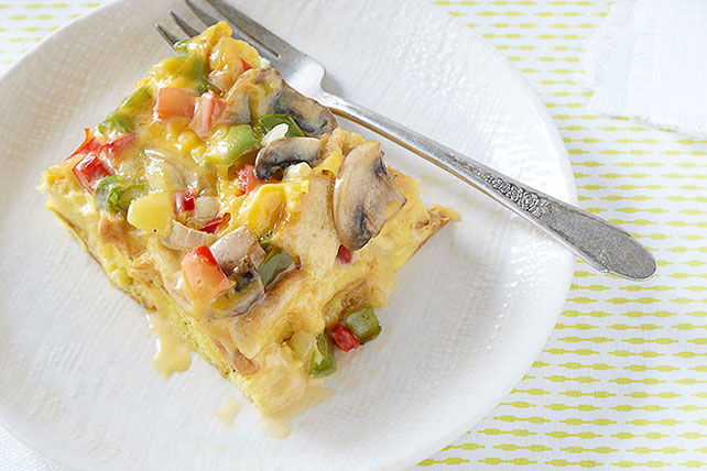 VELVEETA Vegetable Brunch Bake Image 1
