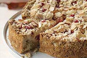 Cherry-Cream Cheese Coffeecake