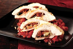 Chorizo & Poblano Stuffed Chicken Breast