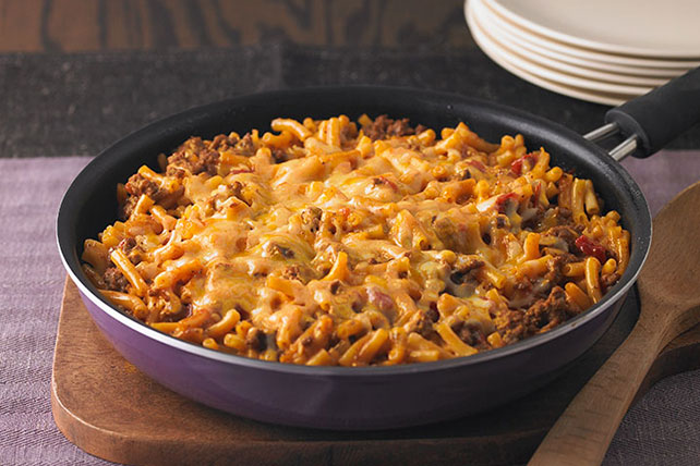 Cheesy Macaroni Beef Skillet Kraft Recipes