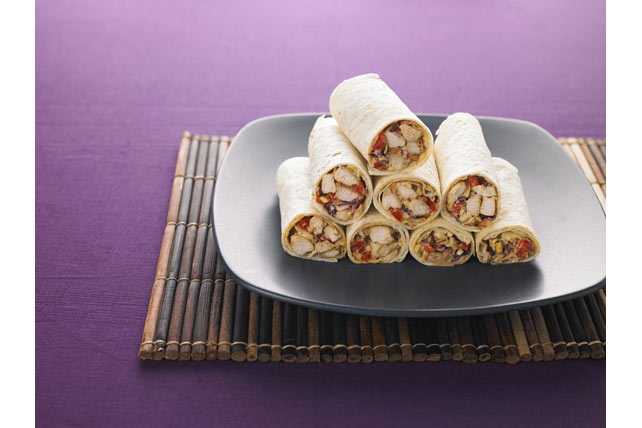 Asian Chicken Wraps Image 1