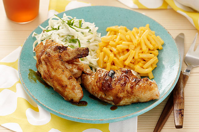 Pollo al BBQ con ensalada picosita de repollo Image 1