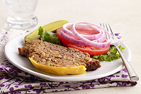 Slow-Cooker Cheeseburger Meatloaf