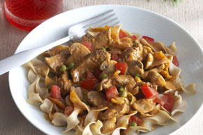 Creamy Beef & Mushrooms with Noodles