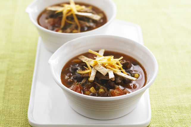 Tortilla-Beef Soup Image 1