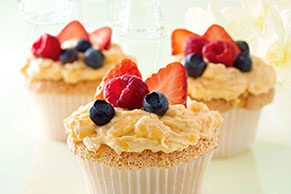 Angel Lush Cupcakes Image 1