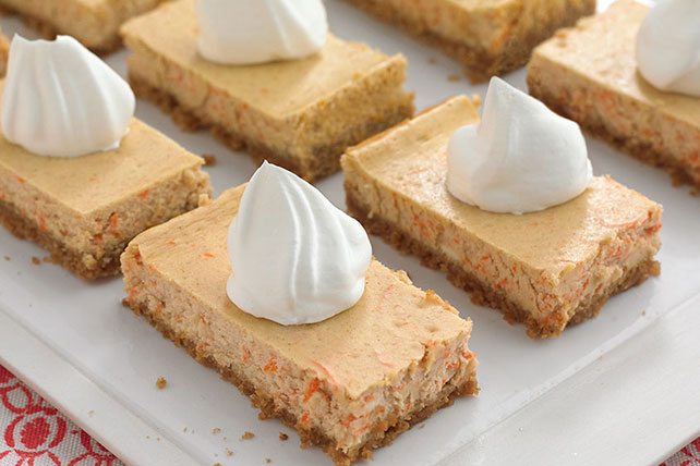 Carrot Cheesecake Bars Image 1