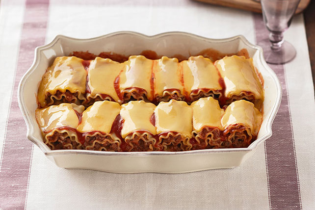 Cheesy Lasagna Roll-Ups