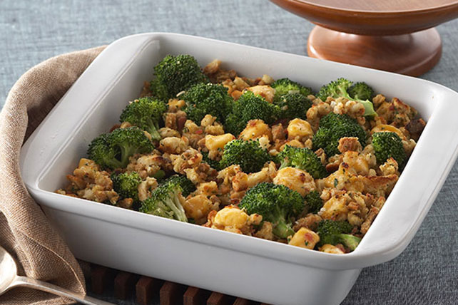 Cheesy Broccoli Bake Image 1