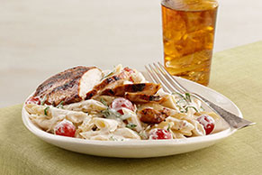 Creamy Tomato-Basil Pasta with Chicken
