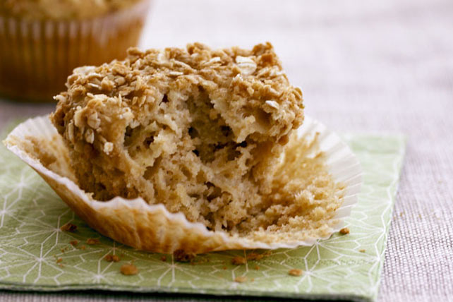 Muffins « croustillant aux pommes » Image 1