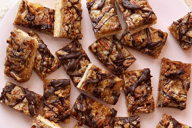 Ginger-Pecan Bars