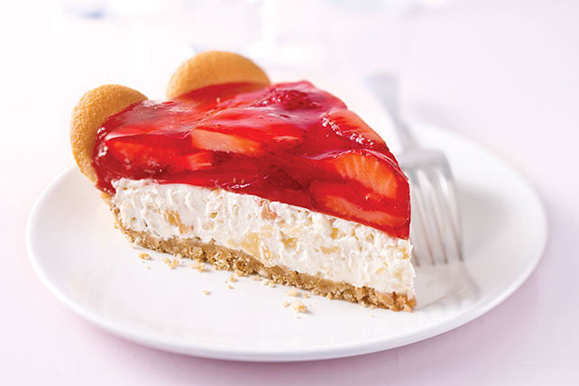 Tropical Strawberry Cream Pie Image 1