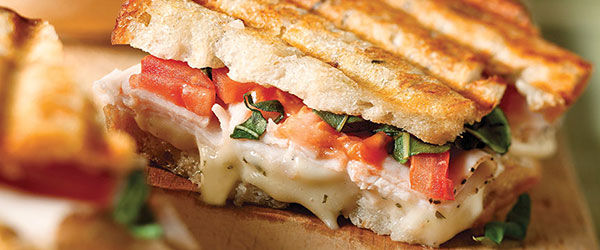 Turkey Bruschetta Panini