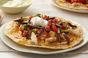 Chipotle-Chicken Tostadas