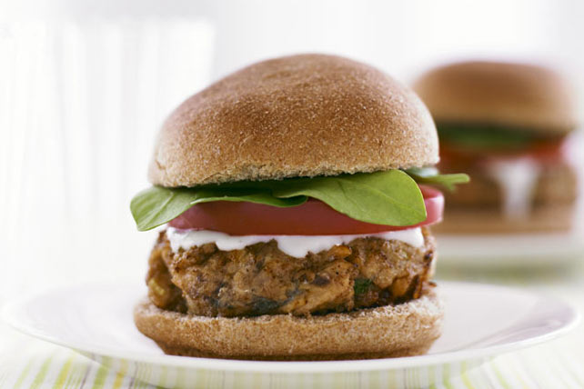 Sizzling Salmon Burgers for Two