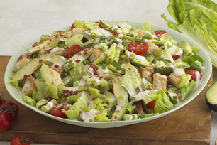 Bacon and Avocado Caesar Salad