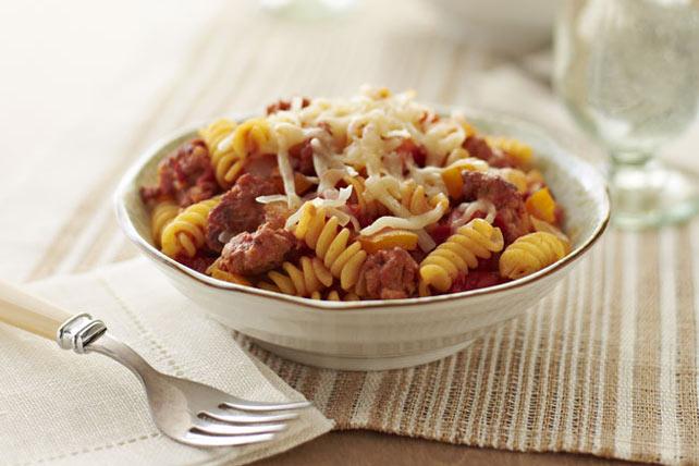 Italian Sausage and Tomato Rotini Image 1