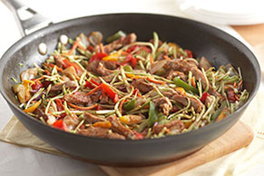 Rush-Hour Pork Stir-Fry