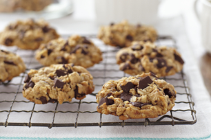Peanut Butter-Oatmeal Chocolate Chunk Cookies