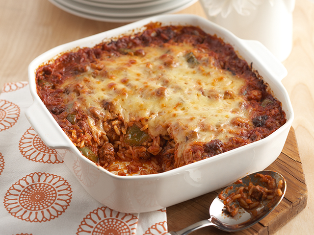 Undone Stuffed Pepper Casserole Image 1