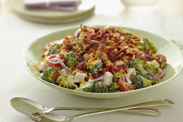 Salade de poulet et de mozza-cheddar croquante Image 1
