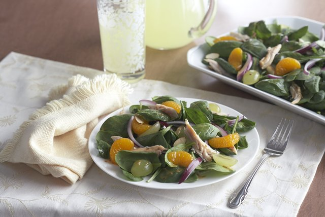 mandarin-spinach-salad-chicken-115911 Image 1