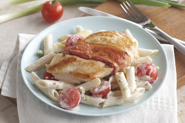 Creamy Chicken with Bacon & Penne Image 1