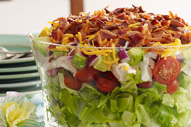 Layered Cobb Salad Image 1