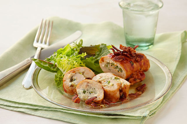 Creamy Stuffed Chicken Roll-Ups Image 1