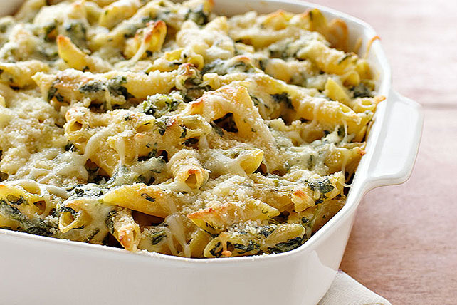 Four Cheese Pasta Florentine - Kraft Recipes