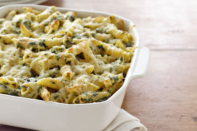 Four Cheese Pasta Florentine Image 1