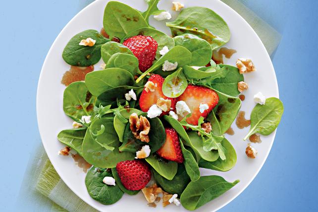 Salade aux fraises et au chèvre Image 1