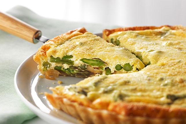 Asparagus & Parmesan Tart Image 1