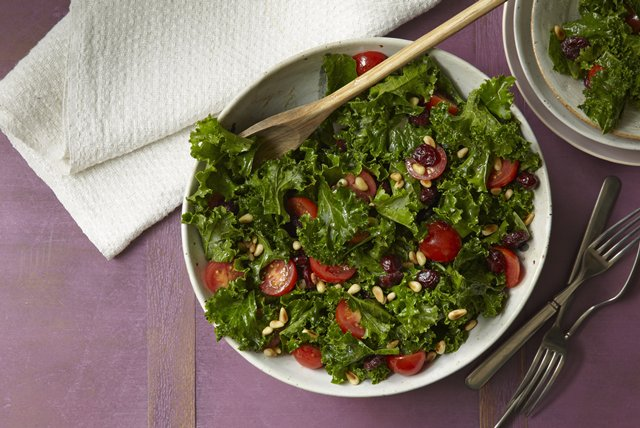 Kale Salad with Cranberries Image 1