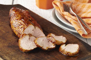 Honey-Soy Glazed Pork Tenderloin