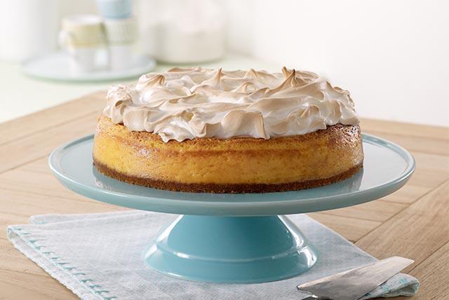 Cheesecake de limón con merengue Image 1