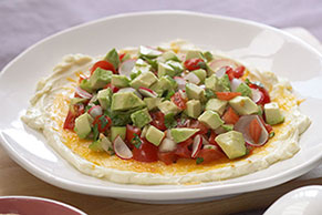 Layered Pico de Gallo Dip