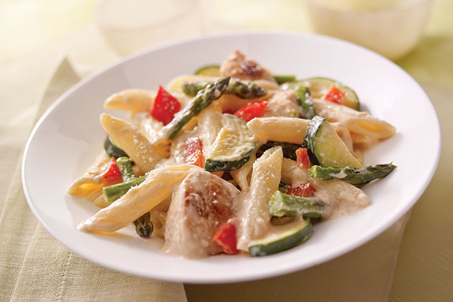 Creamy Chicken Penne with Veggies Image 1