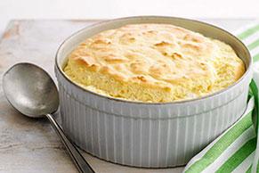 Parmesan Cheddar Soufflé