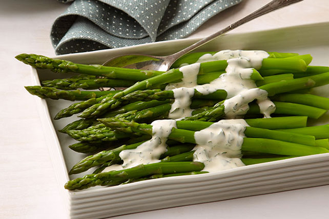 Asparagus with Mustard Sauce Image 1