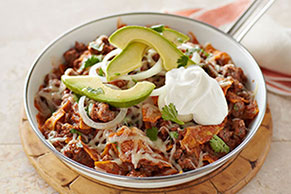 Beef Chilaquiles